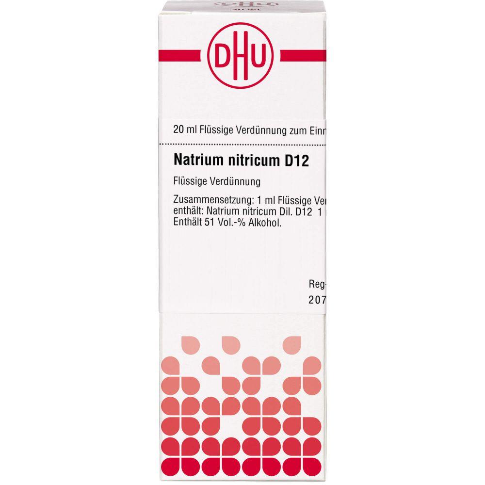 NATRIUM NITRICUM D 12 Dilution