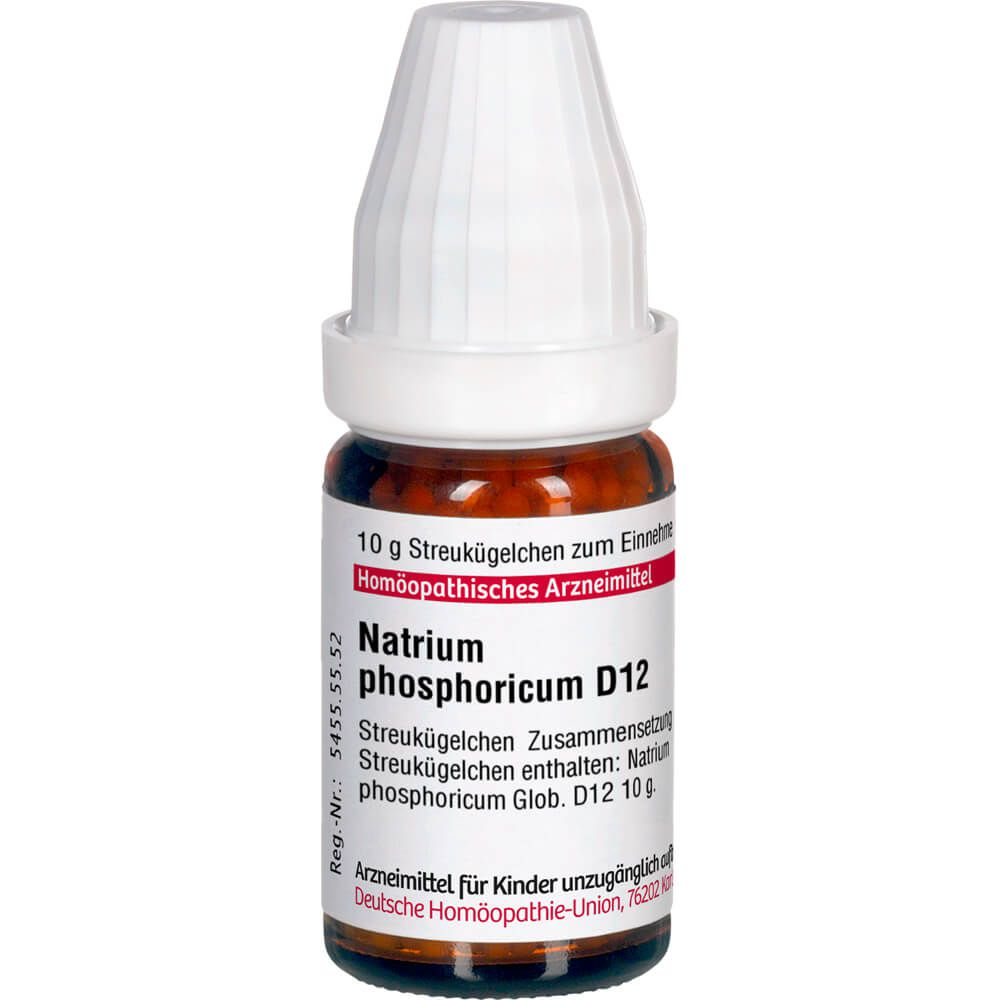 NATRIUM PHOSPHORICUM D 12 Globuli