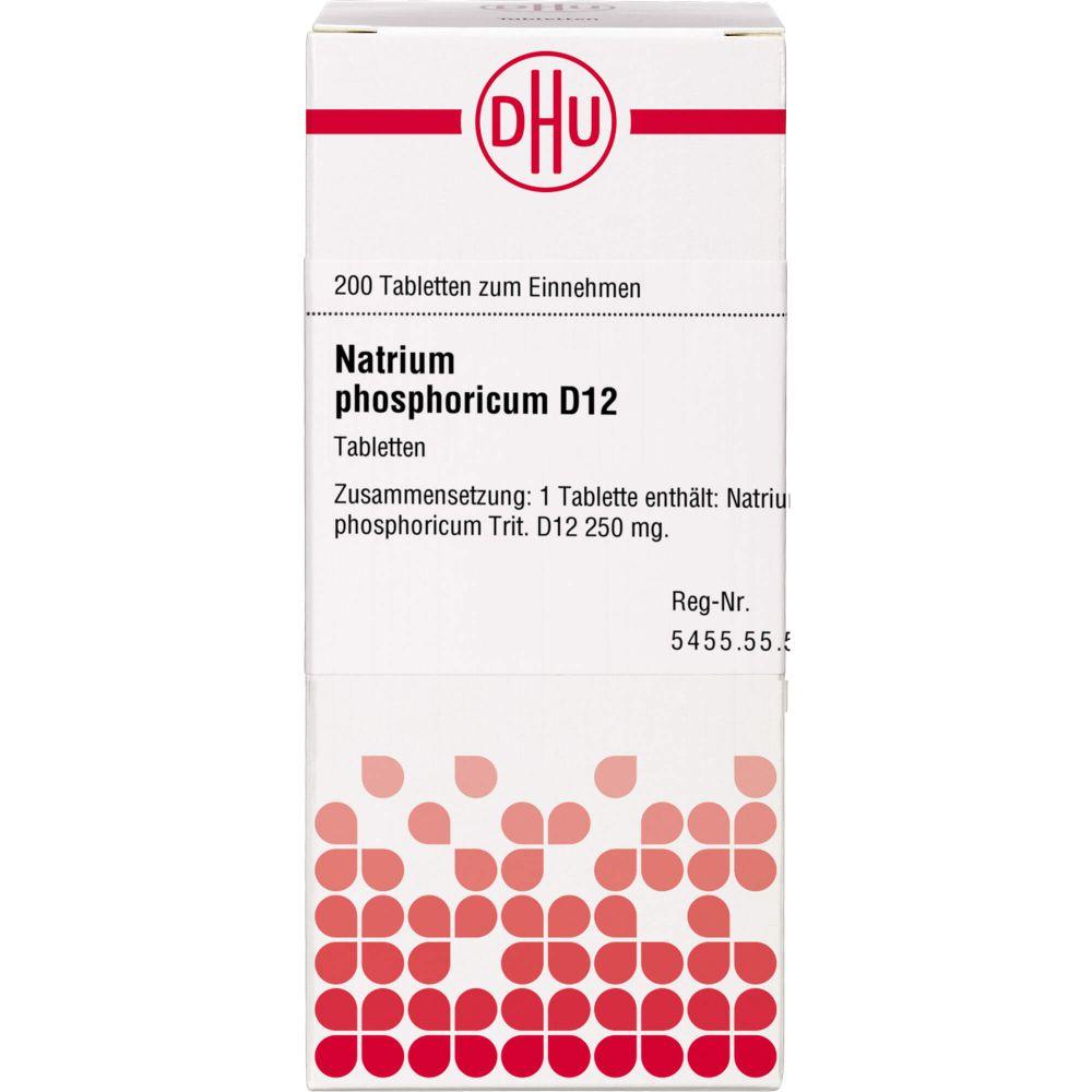 NATRIUM PHOSPHORICUM D 12 Tabletten