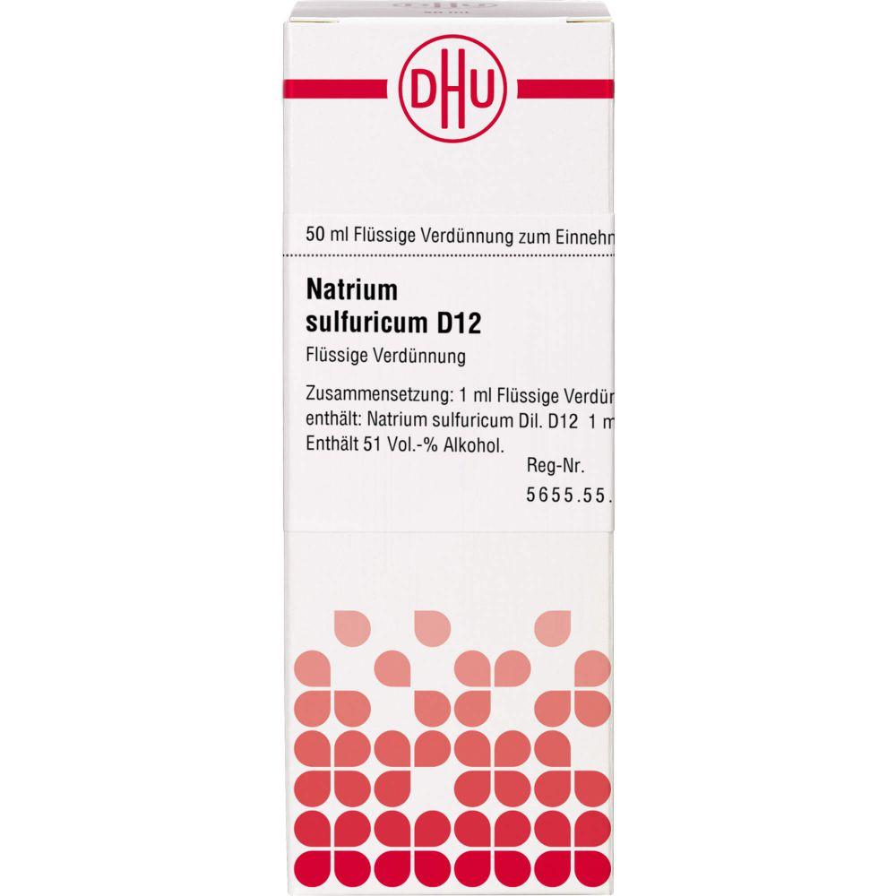 NATRIUM SULFURICUM D 12 Dilution
