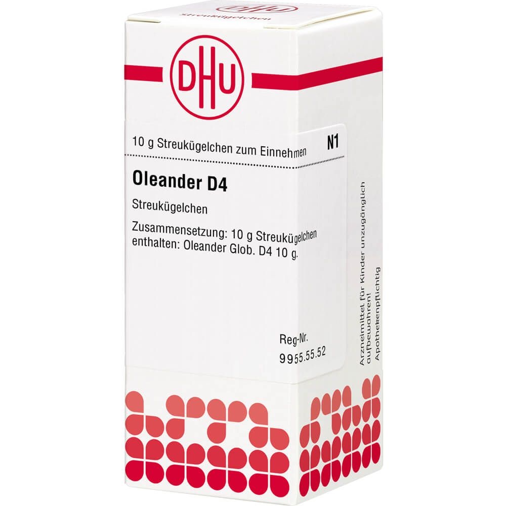 OLEANDER D 4 Globuli