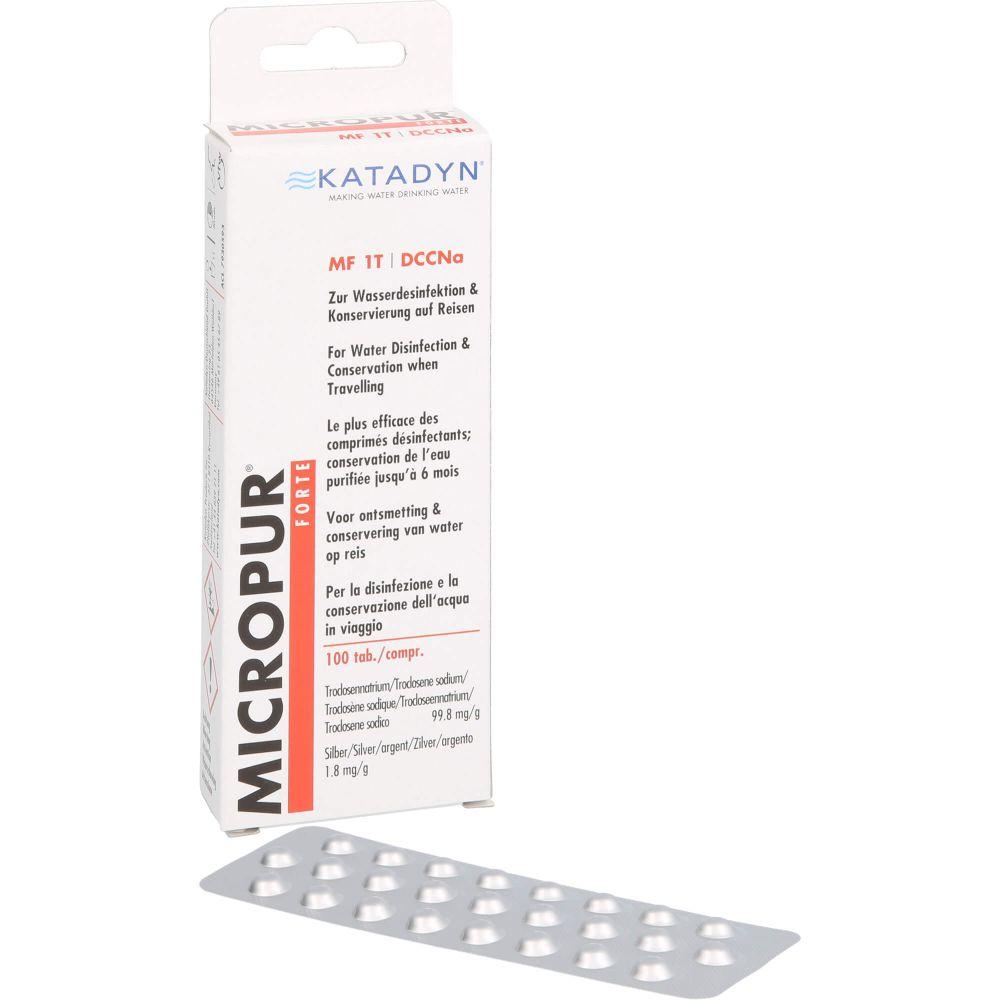 MICROPUR forte MF 1T Tabletten