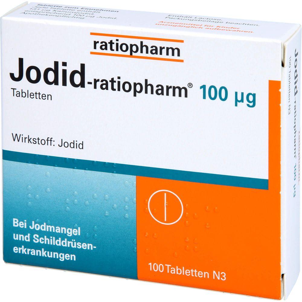 JODID-ratiopharm 100 μg Tabletten