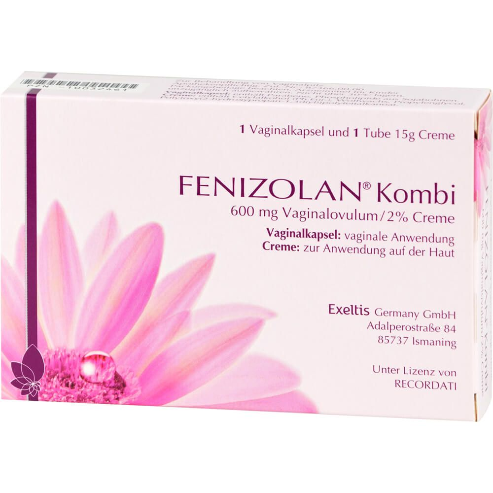 FENIZOLAN 600 mg Vaginalovula