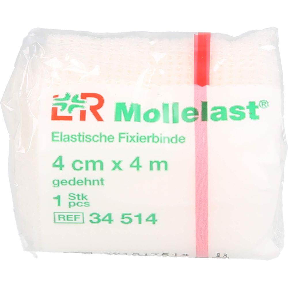 MOLLELAST Binden 4 cmx4 m weiß