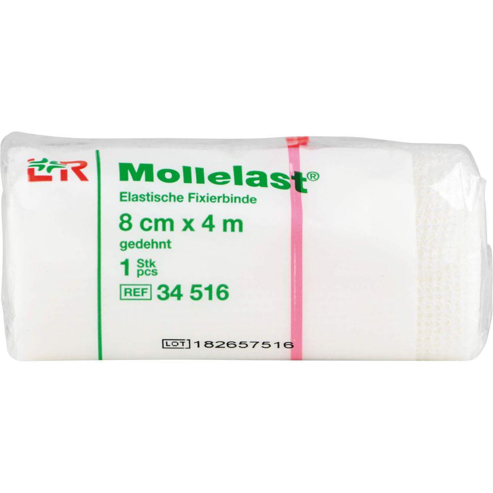 MOLLELAST Binden 8 cmx4 m weiß