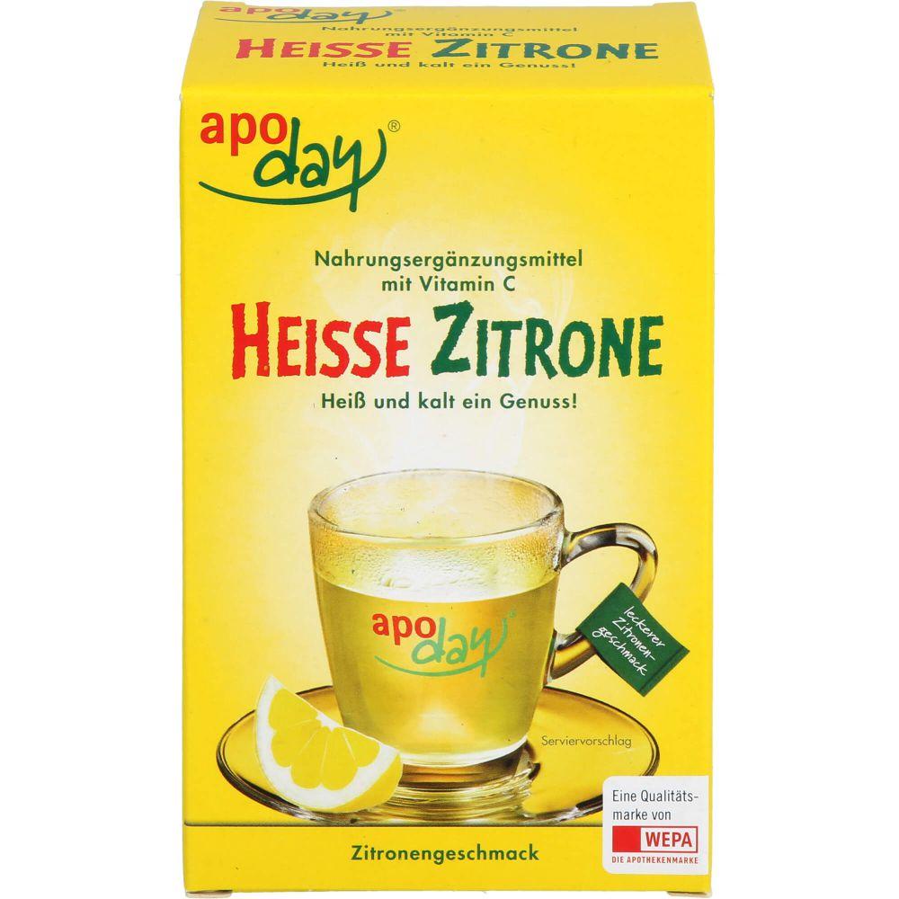 APODAY heiße Zitrone Vit.C Pulver