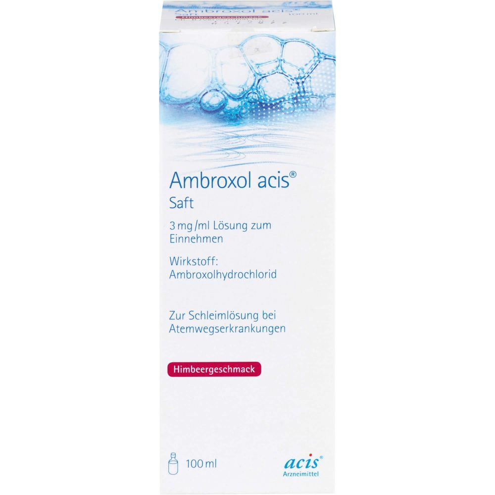 AMBROXOL acis Saft