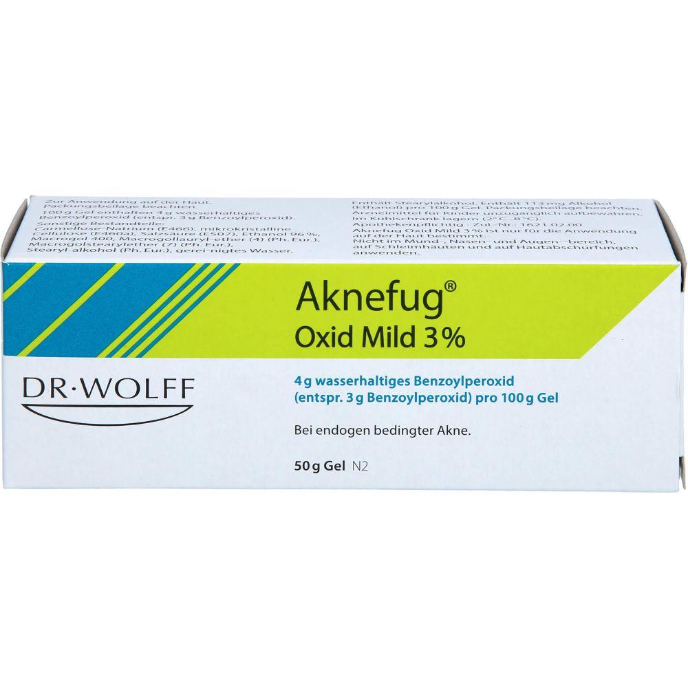 AKNEFUG oxid mild 3% Gel