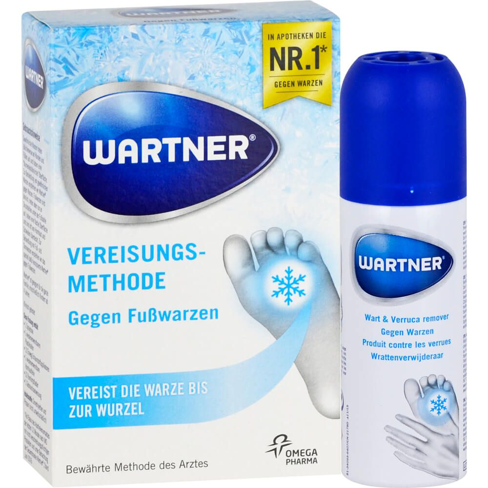 WARTNER Fußwarzen Spray
