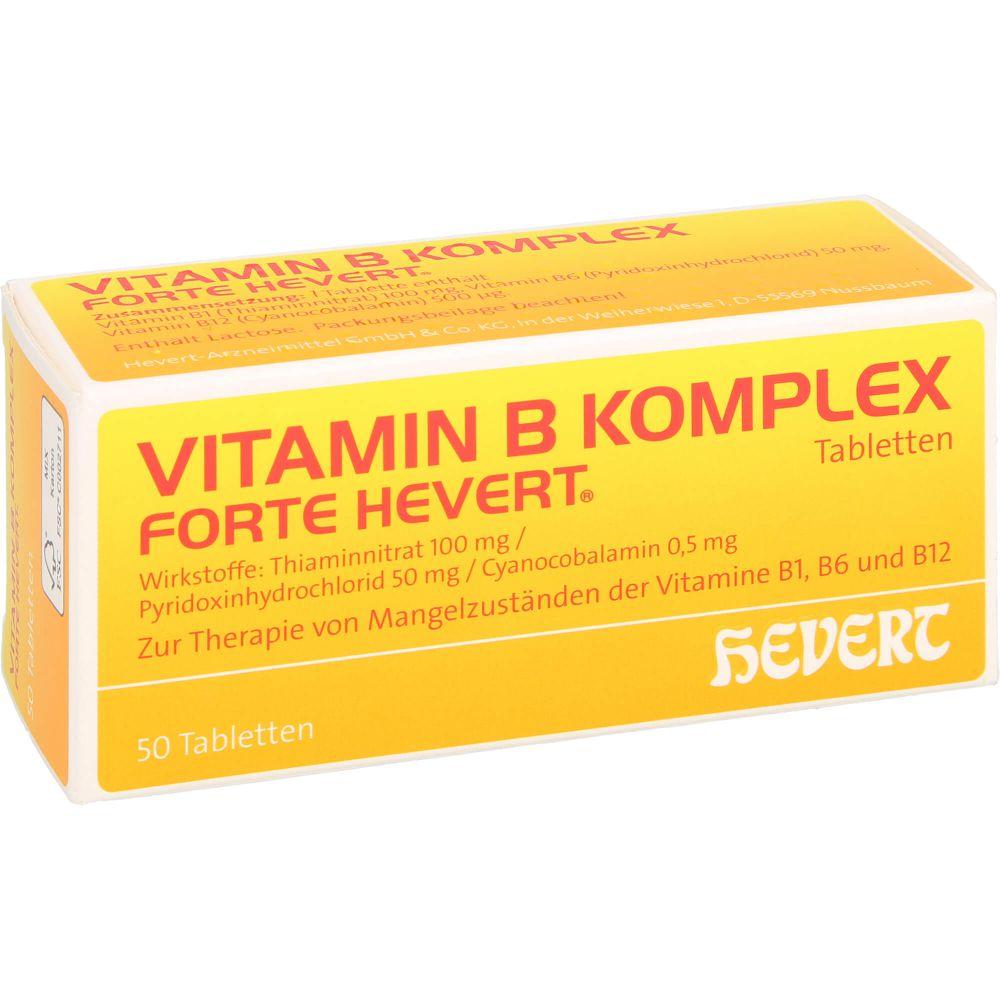 VITAMIN B KOMPLEX forte Hevert Tabletten