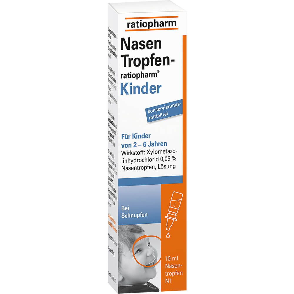 NASENTROPFEN-ratiopharm Kinder Konservier.frei