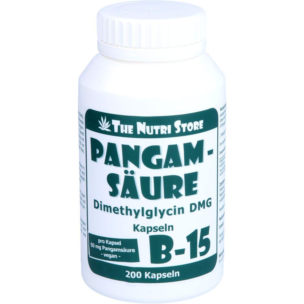 PANGAMSÄURE B15 50 mg vegetarische Kapseln