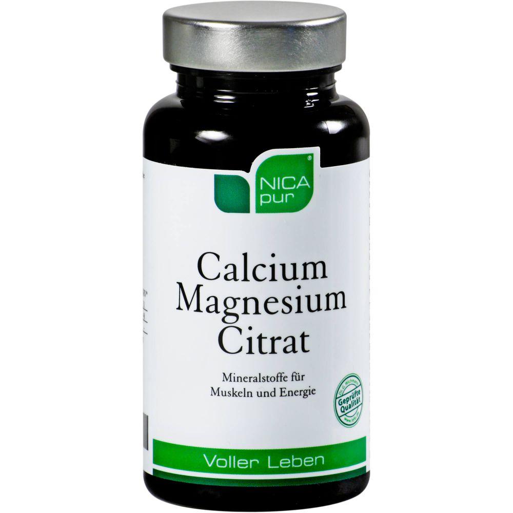 NICAPUR Calcium Magnesium Citrat Kapseln