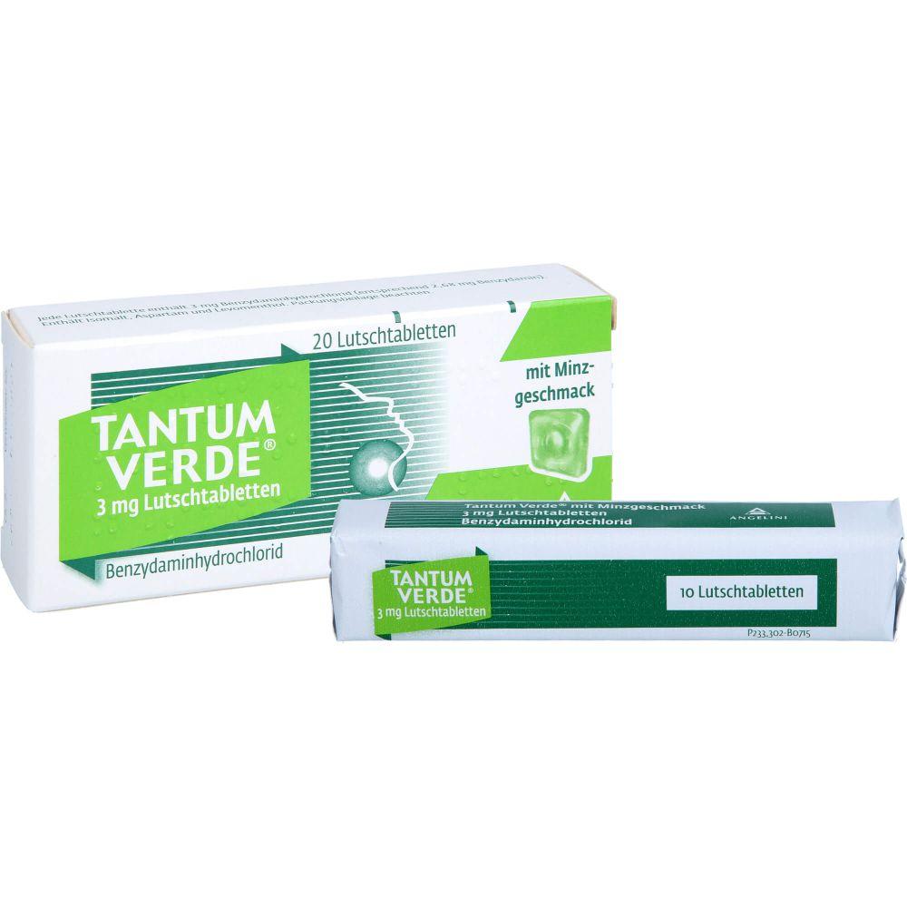 TANTUM VERDE 3 mg Lutschtabl.m.Minzgeschmack
