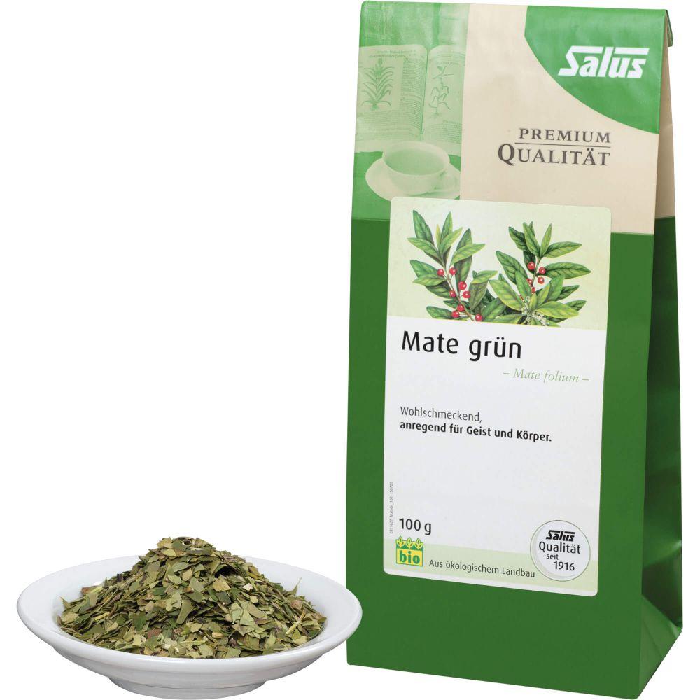 MATE GRÜN Kräutertee Mate folium Bio Salus