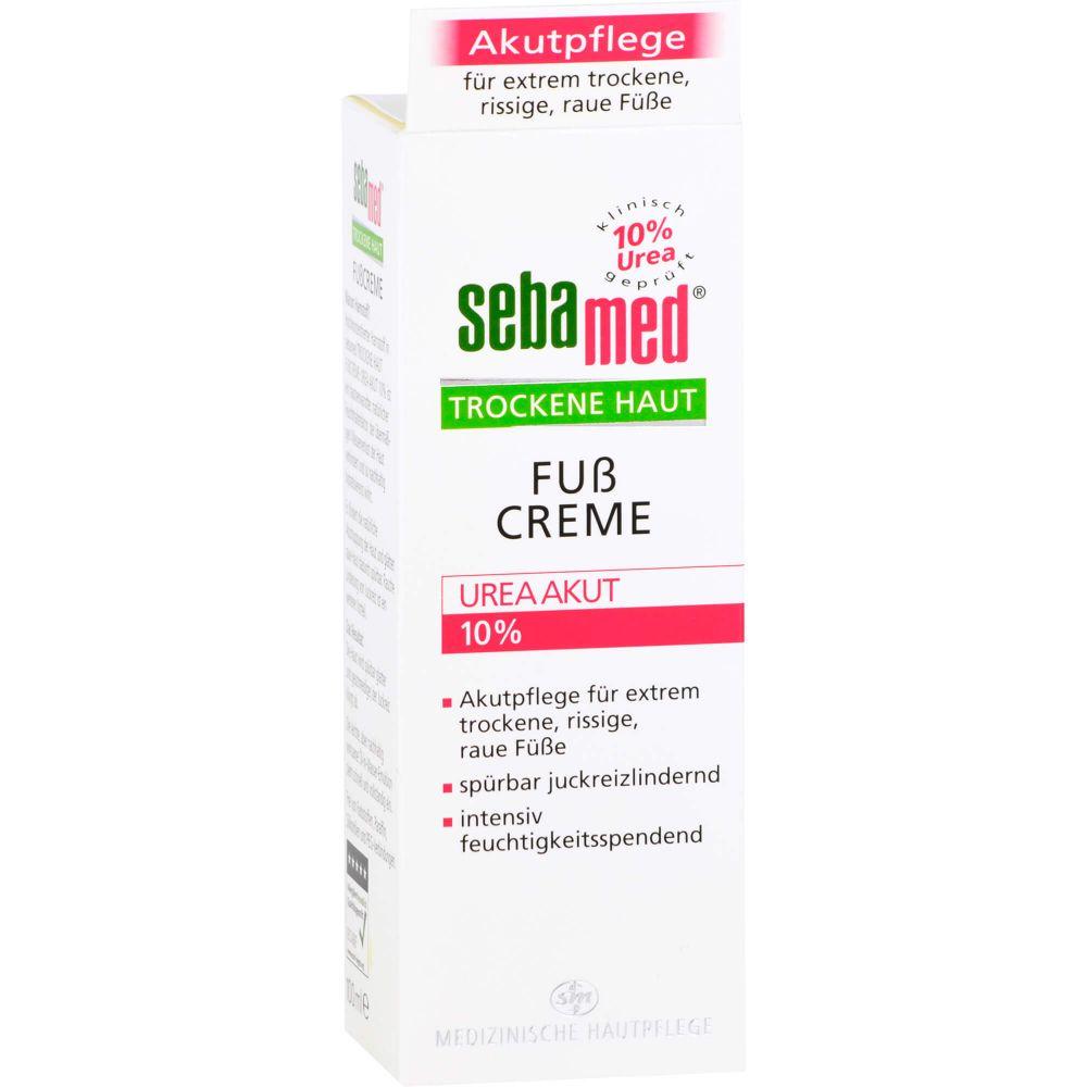 SEBAMED Trockene Haut 10% Urea akut Fußcreme