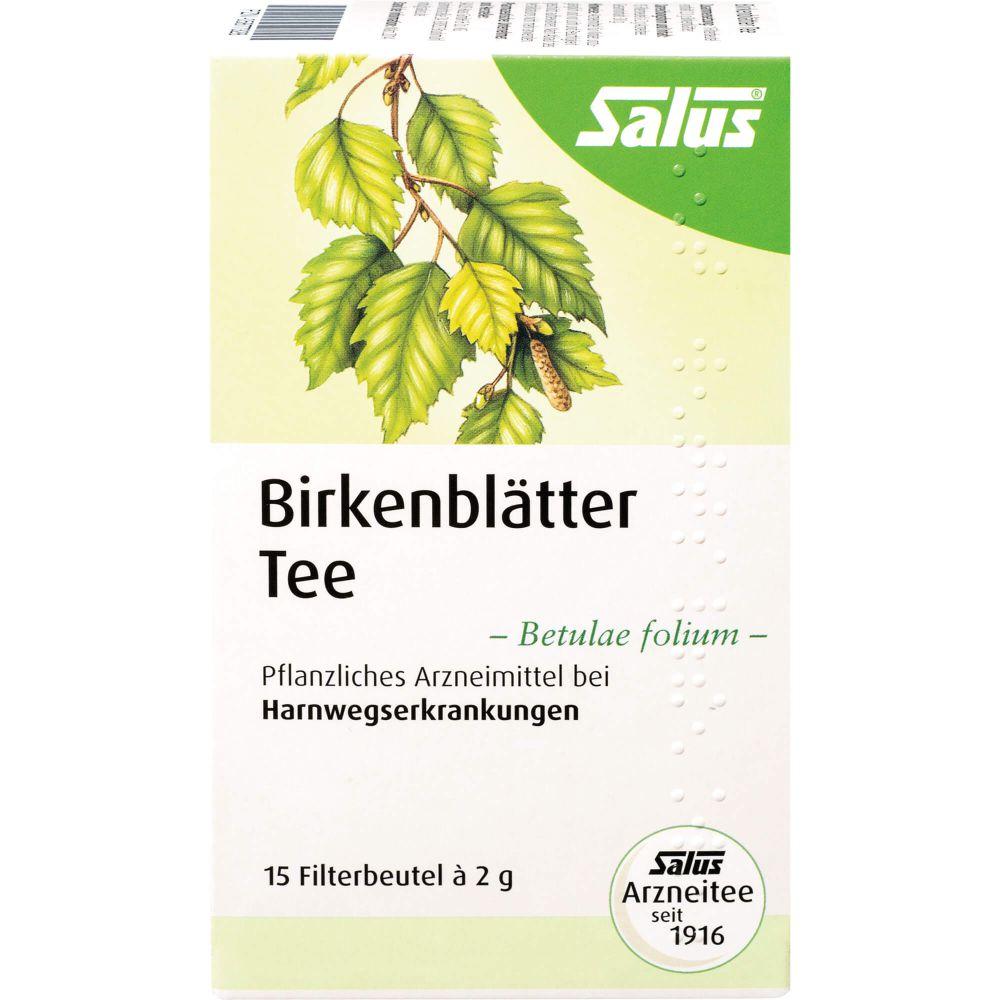 BIRKENBLÄTTER Arzneitee Betulae folium Bio Salus