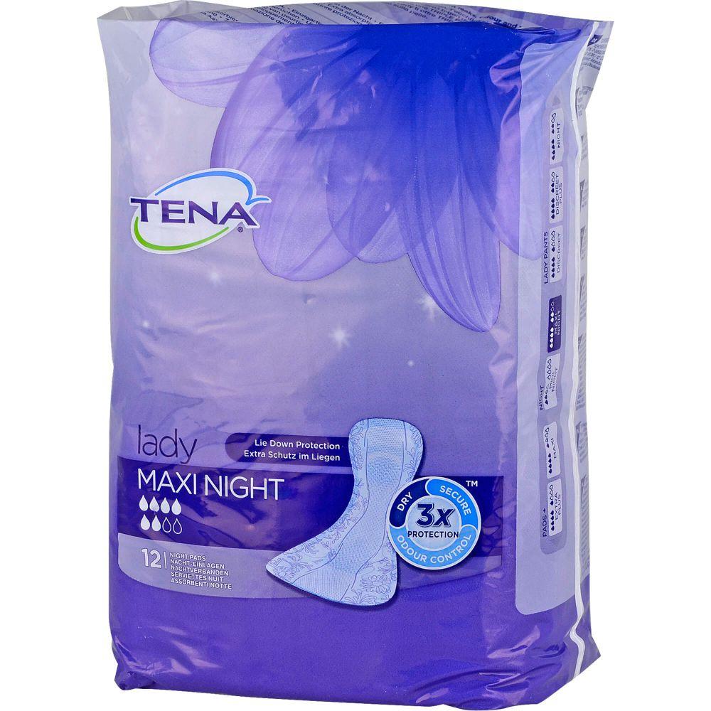 TENA LADY maxi night Einlagen