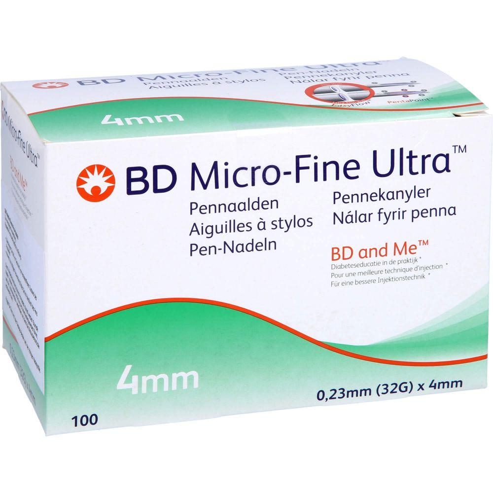 BD MICRO-FINE+ 4 Pen-Nadeln 0,23x4 mm