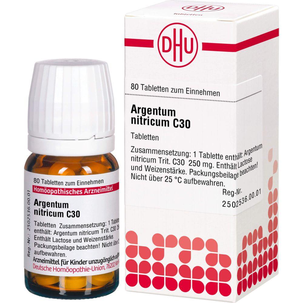 ARGENTUM NITRICUM C 30 Tabletten