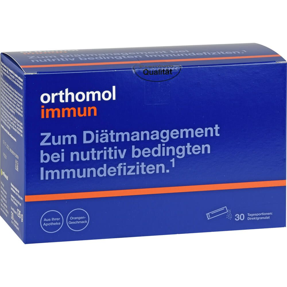 ORTHOMOL Immun Direktgranulat Orange