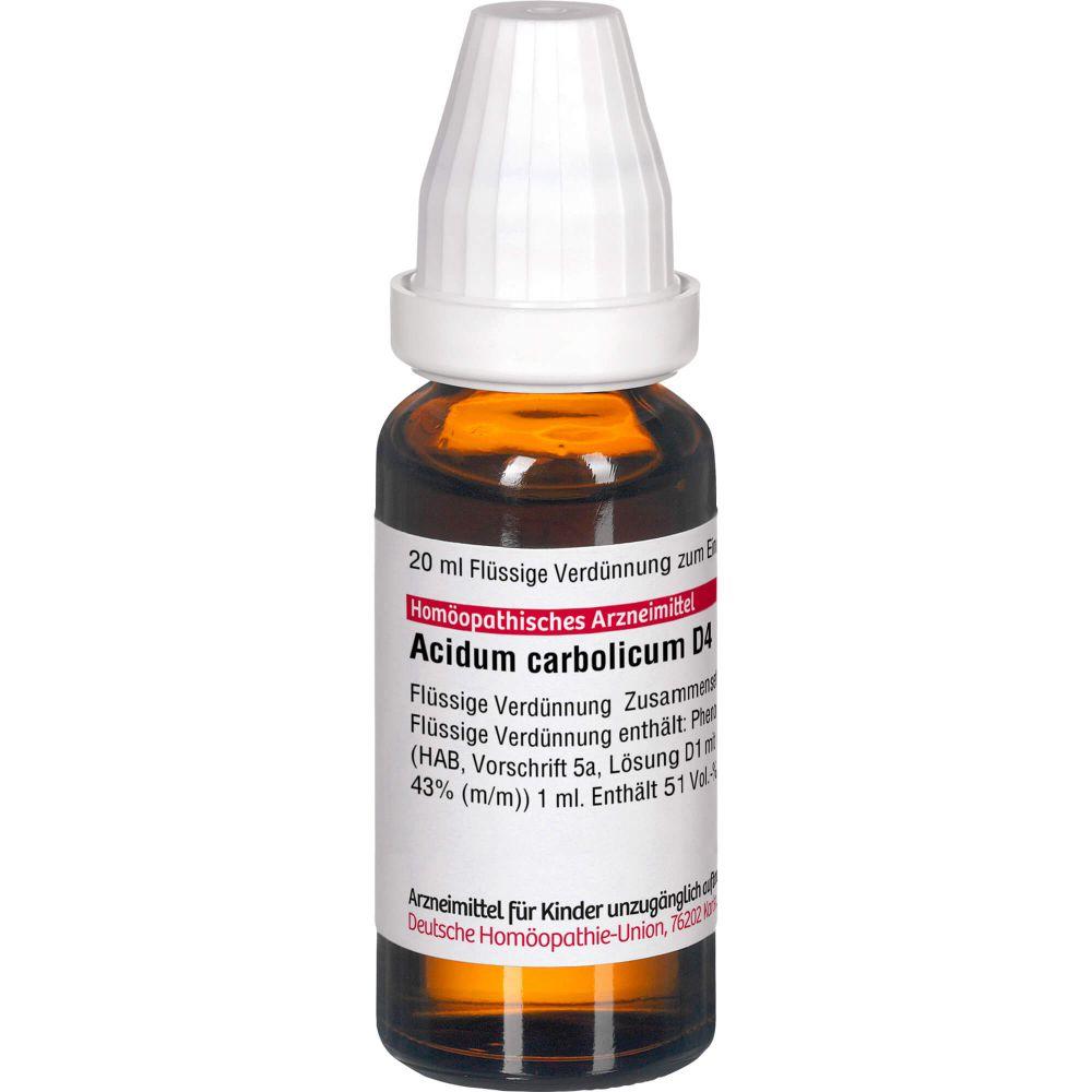ACIDUM CARBOLICUM D 4 Dilution