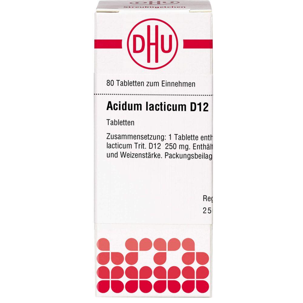 ACIDUM LACTICUM D 12 Tabletten