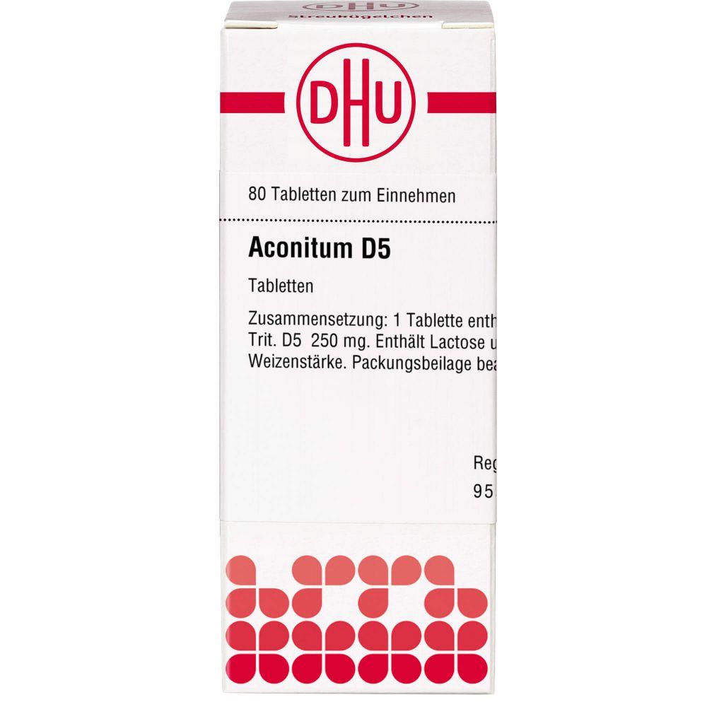 ACONITUM D 5 Tabletten