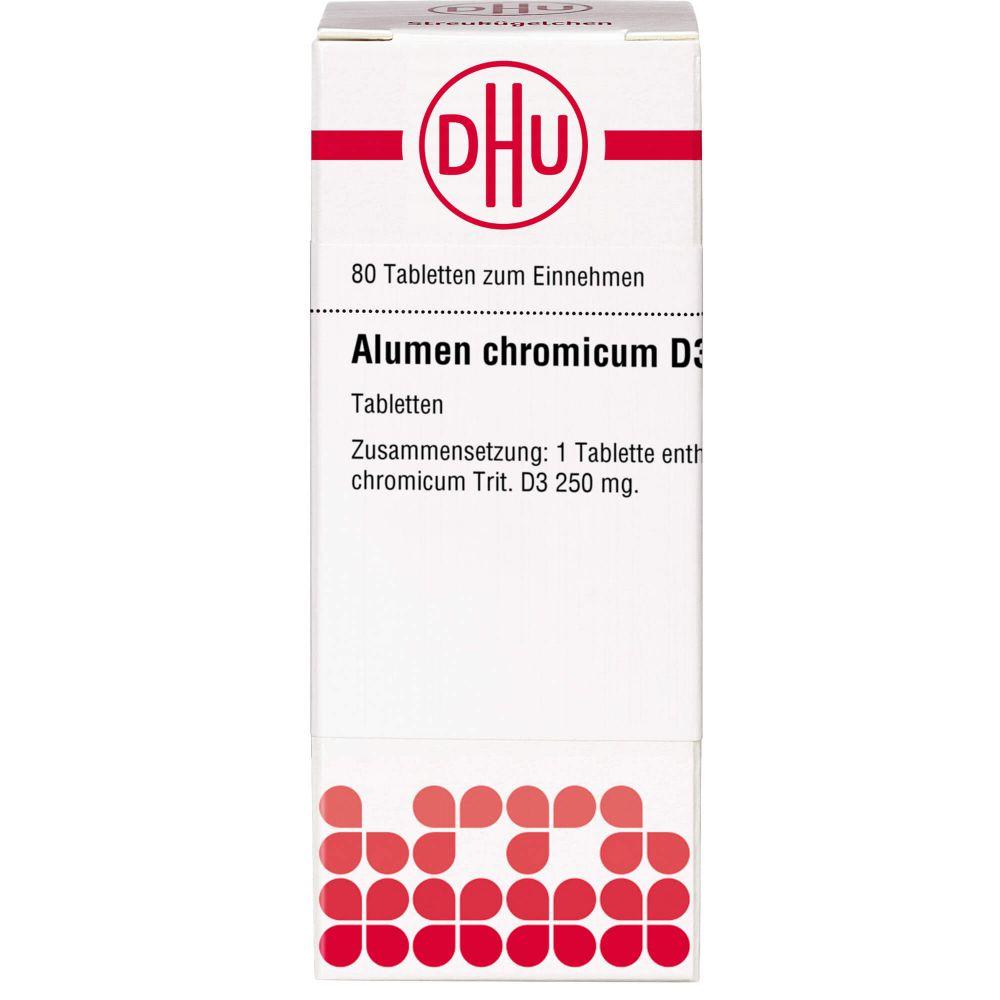 ALUMEN CHROMICUM D 3 Tabletten