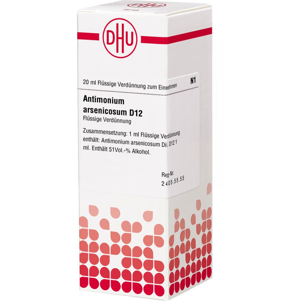 ANTIMONIUM ARSENICOSUM D 12 Dilution
