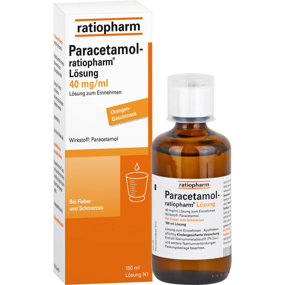 PARACETAMOL-ratiopharm Lösung