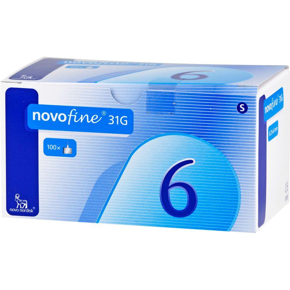 NOVOFINE 6 Kanülen 0,25x6 mm