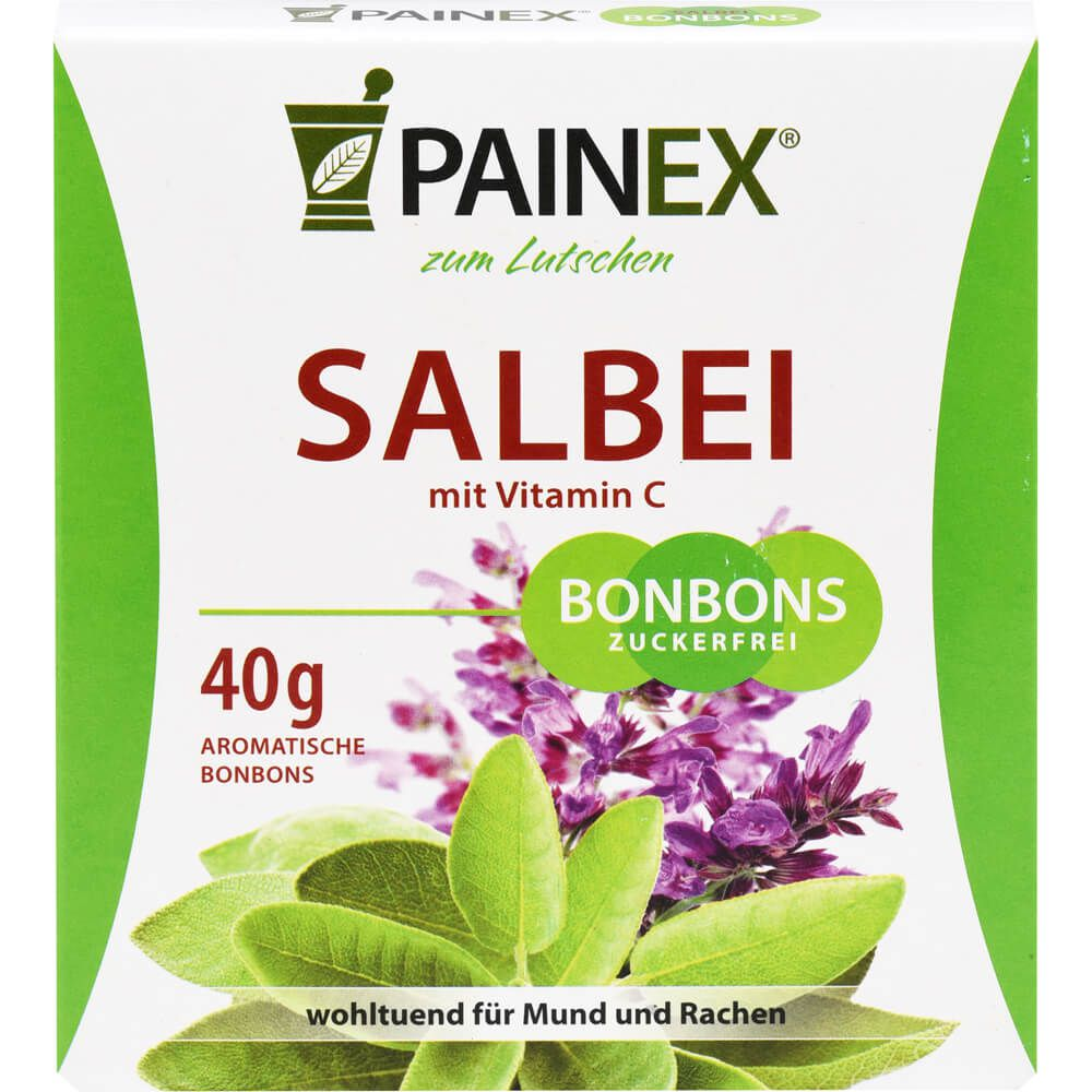 SALBEI BONBONS mit Vitamin C Painex