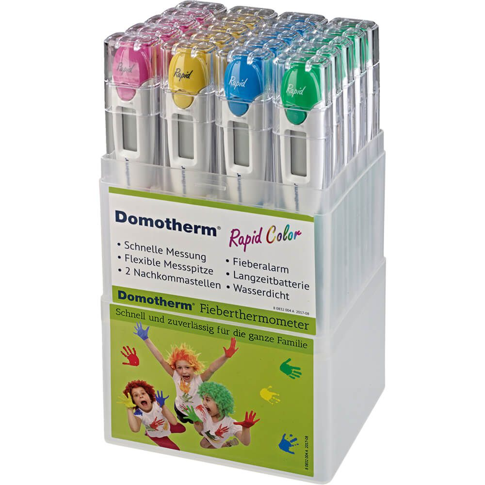 DOMOTHERM Rapid color Fieberthermometer