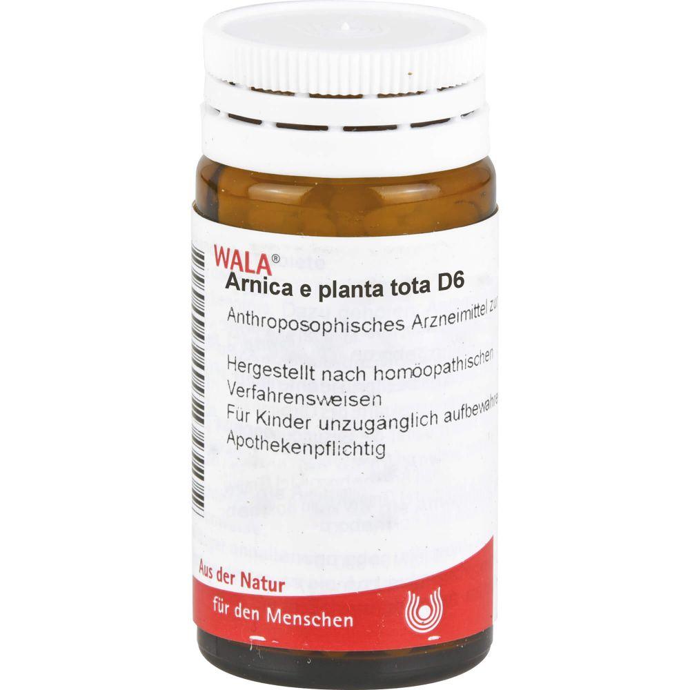 ARNICA E Planta tota D 6 Globuli