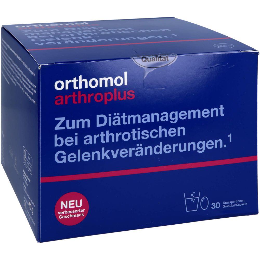 ORTHOMOL arthroplus Granulat/Kapseln Kombipack.