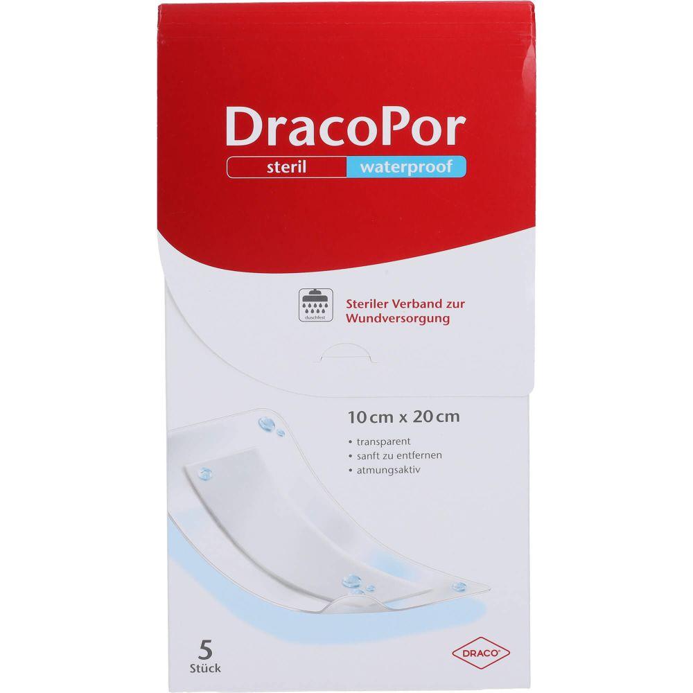 DRACOPOR waterproof Wundverband 10x20 cm steril