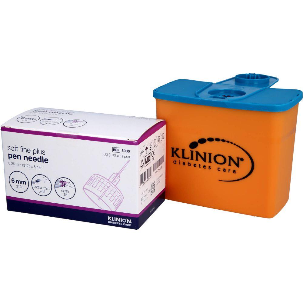 KLINION Soft fine plus Pen-Nadeln 6mm 31 G 0,25mm