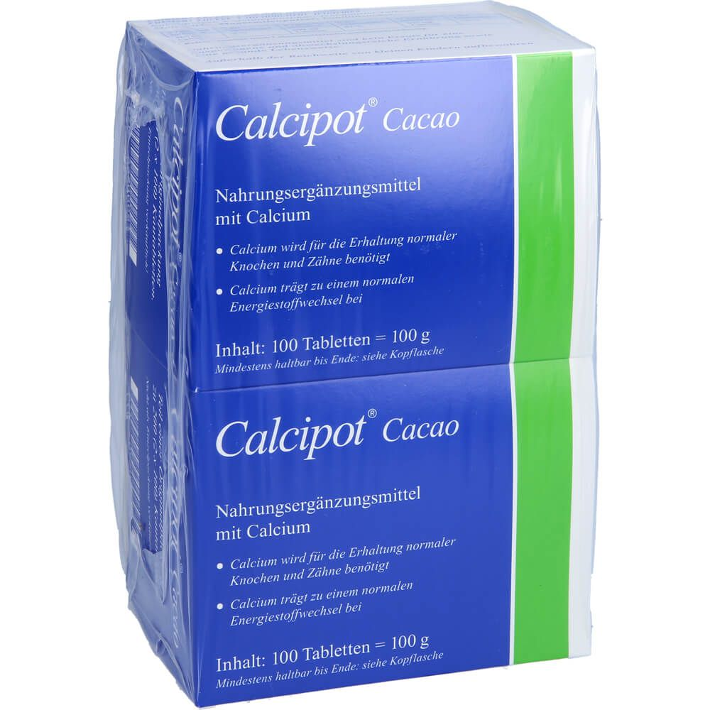 CALCIPOT Cacao Kautabletten