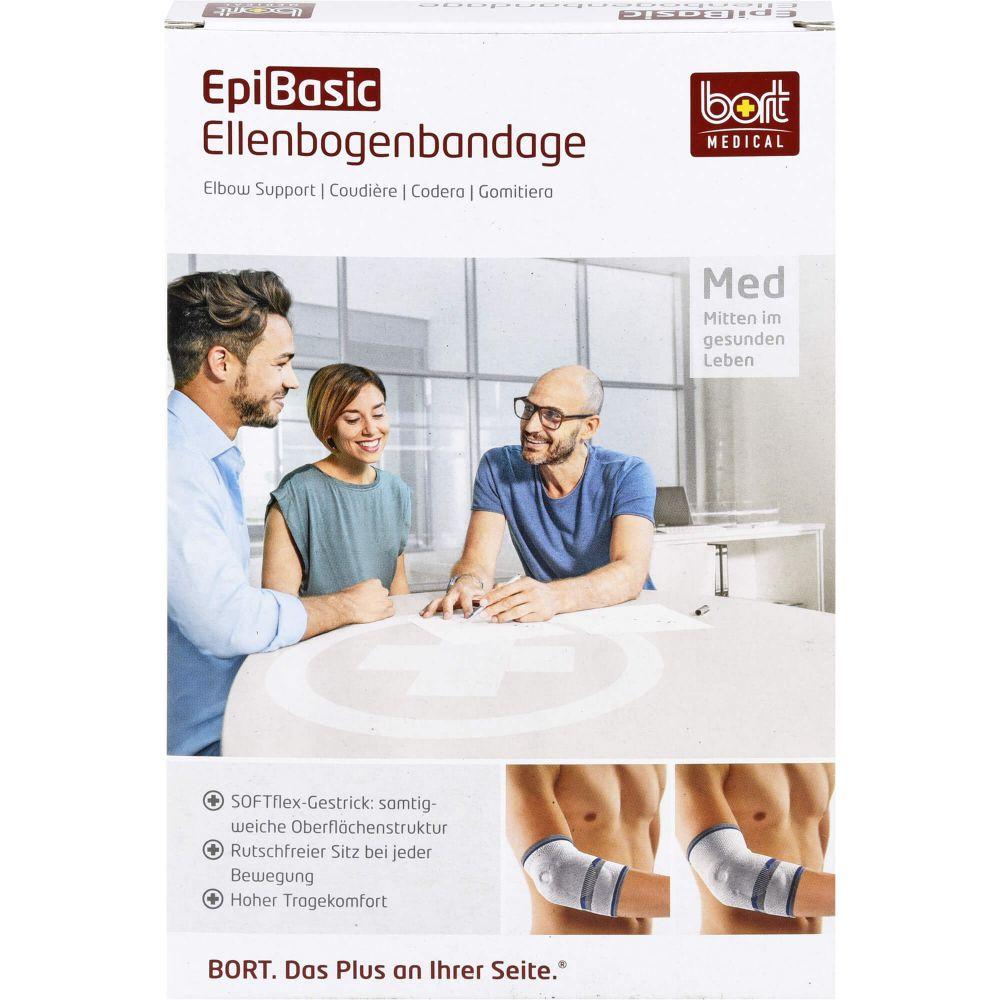 BORT EpiBasic Bandage XS schwarz