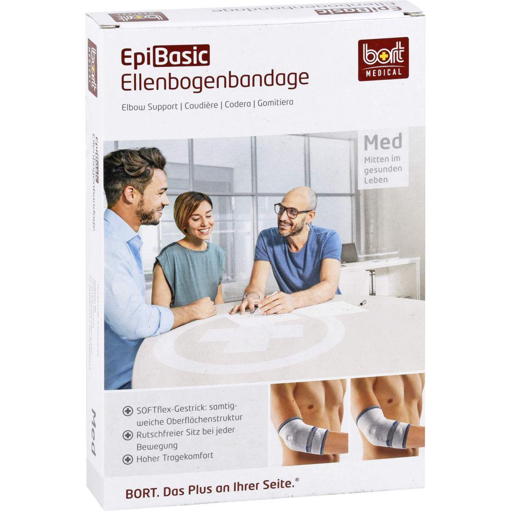 BORT EpiBasic Bandage XXL schwarz