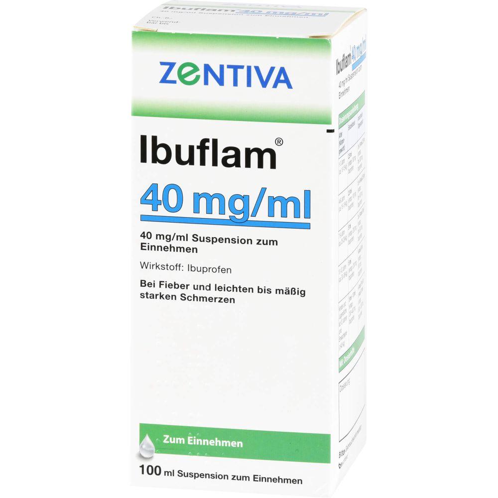 IBUFLAM 40 mg/ml Suspension zum Einnehmen