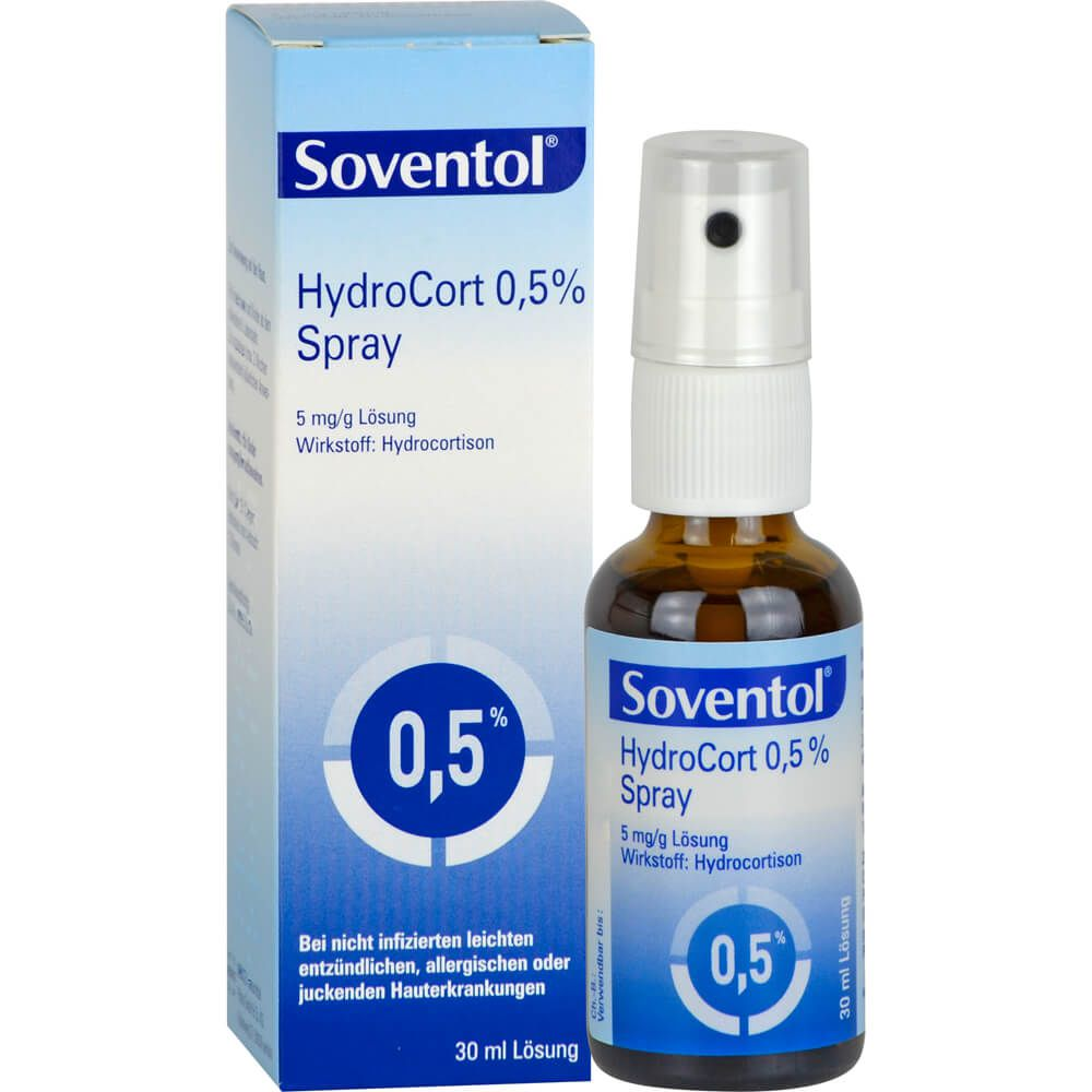 SOVENTOL Hydrocort 0,5% Spray