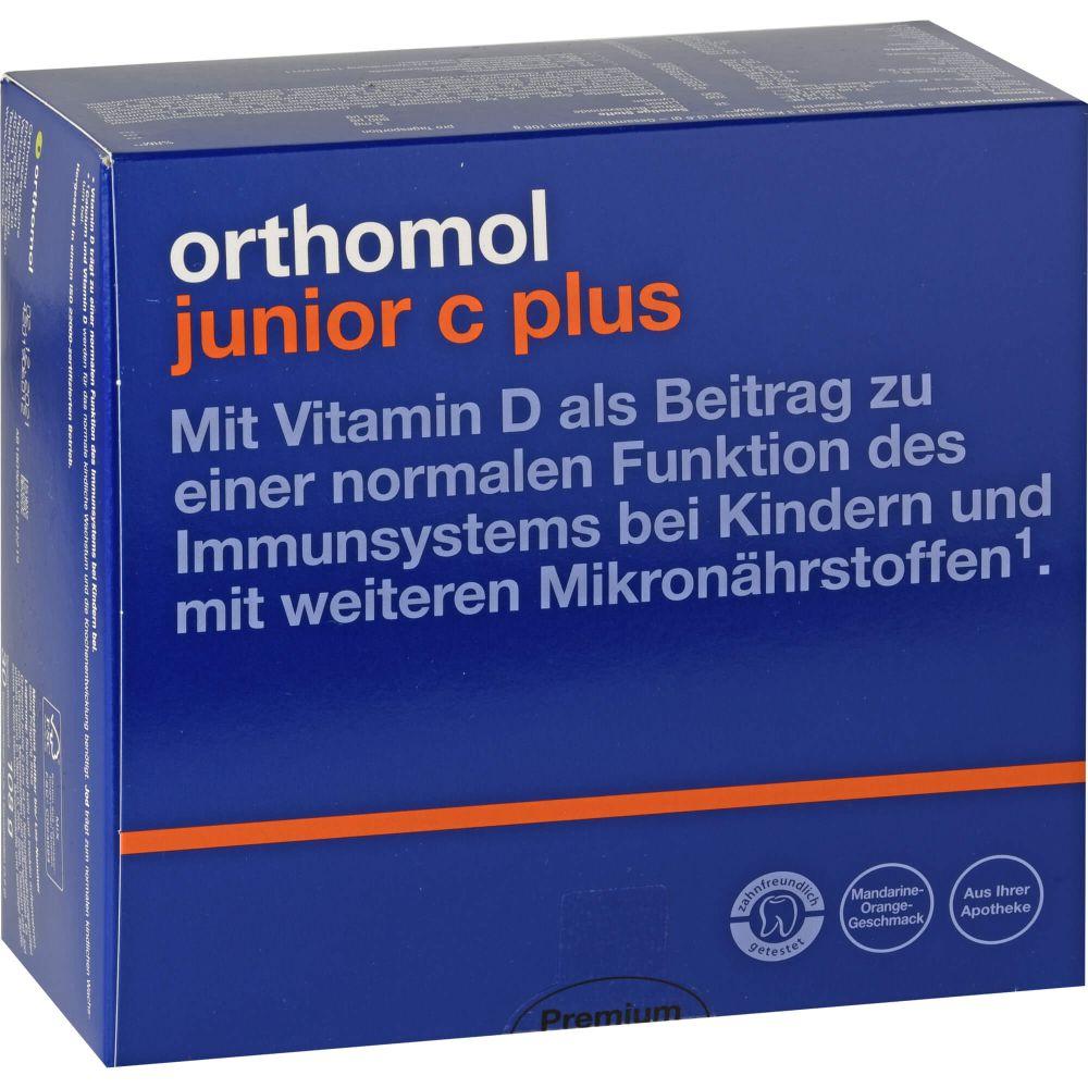 ORTHOMOL Junior C plus Kautabl.Mandarine/Orange