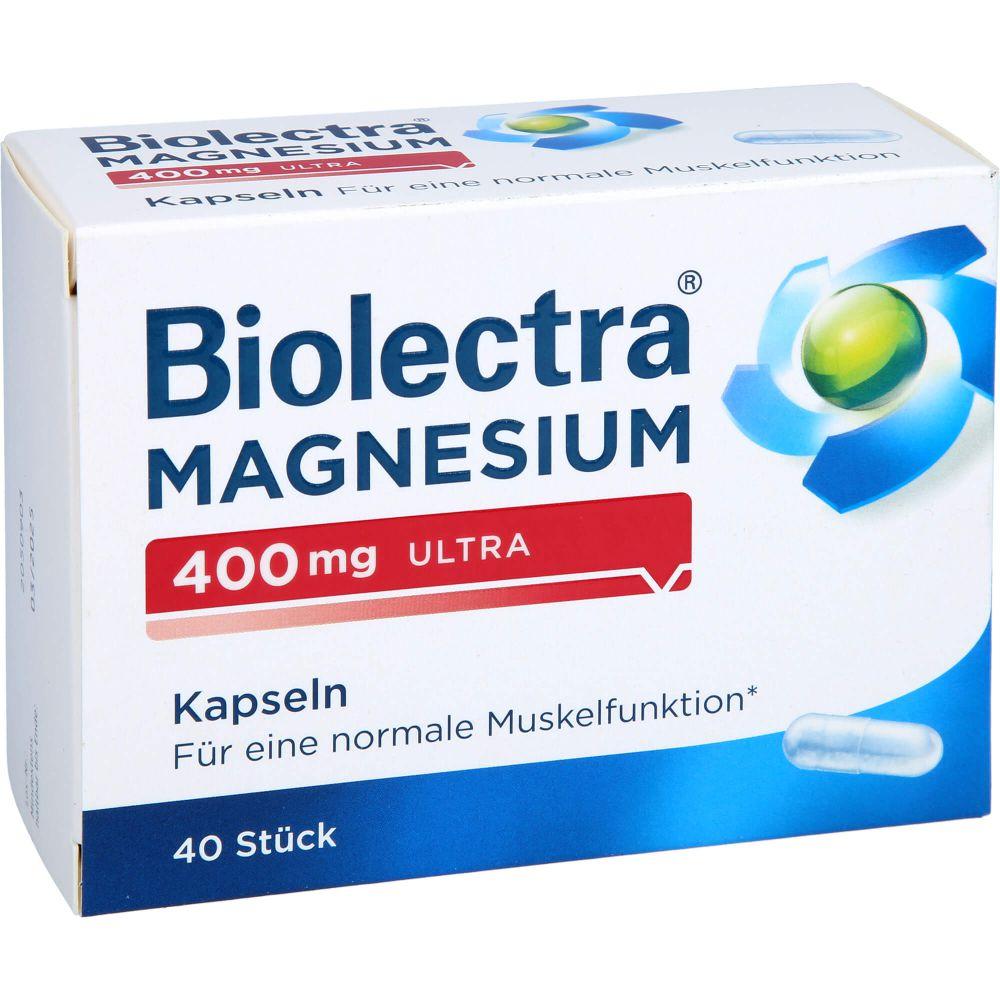 BIOLECTRA Magnesium 400 mg ultra Kapseln