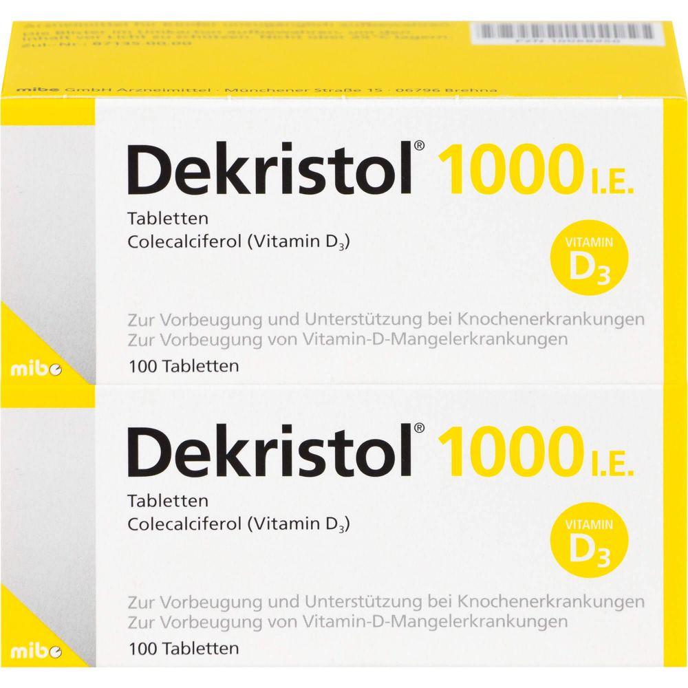 DEKRISTOL 1.000 I.E. Tabletten