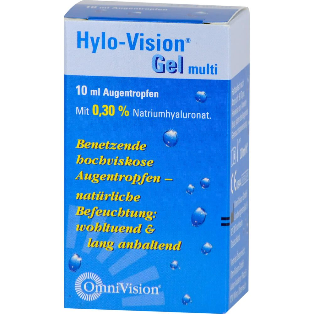 HYLO-VISION Gel multi Augentropfen