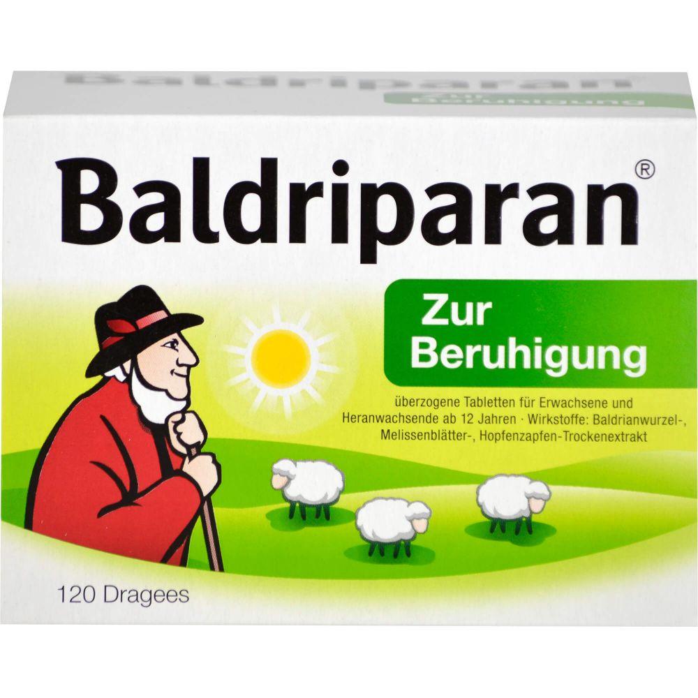 BALDRIPARAN Zur Beruhigung überzogene Tabletten