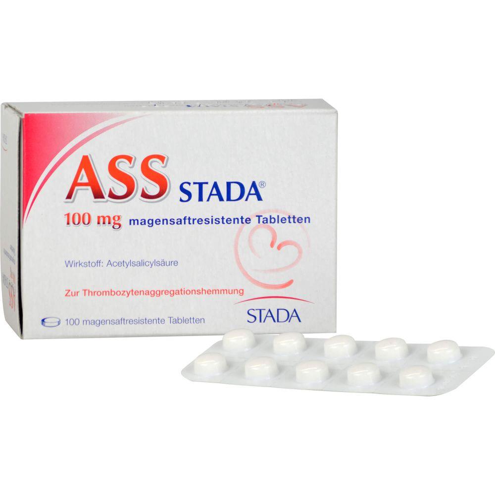 ASS STADA 100 mg magensaftresistente Tabletten